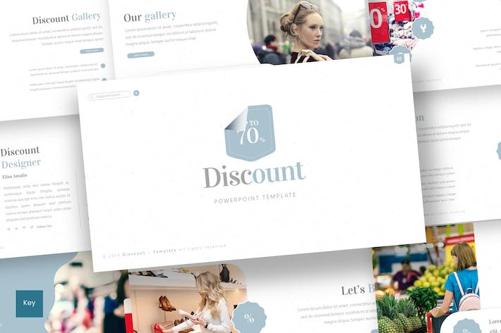 Thumbnail for Discount - Keynote Template