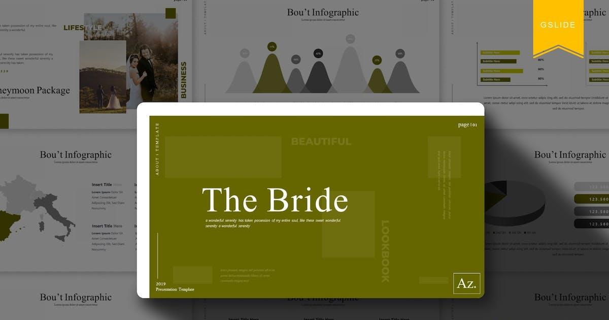 Download The Bride |  Google Slides Template by Vunira