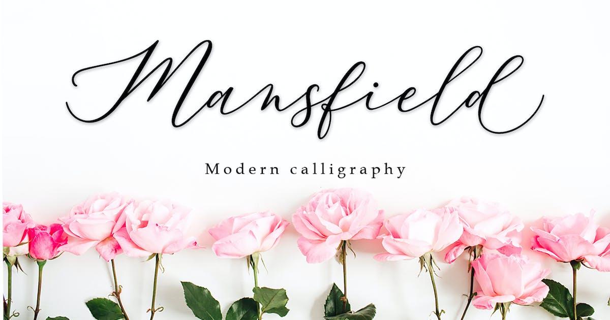 Download Mansfield Script by amarlettering