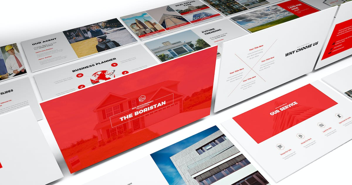 Download Real Estate Google Slides Template by Unknow