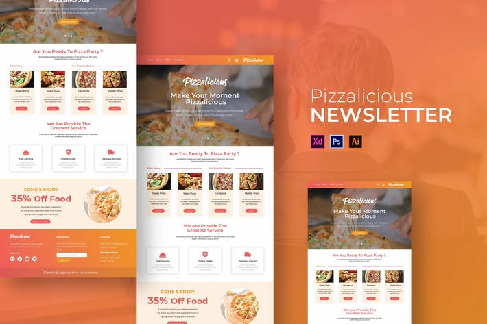 Thumbnail for Pizzalicious | Newsletter