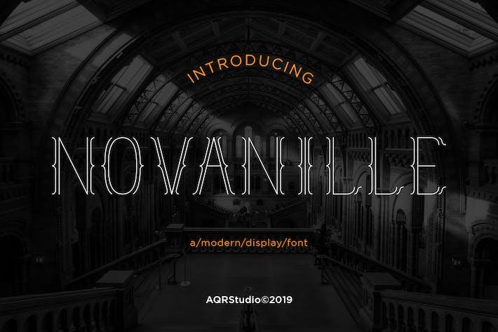 Novanille Display Fonts