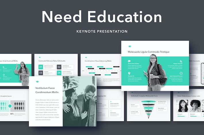Thumbnail for Need Education Keynote Template