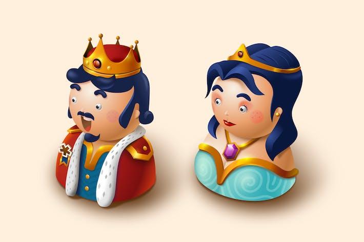Thumbnail for König und Königin