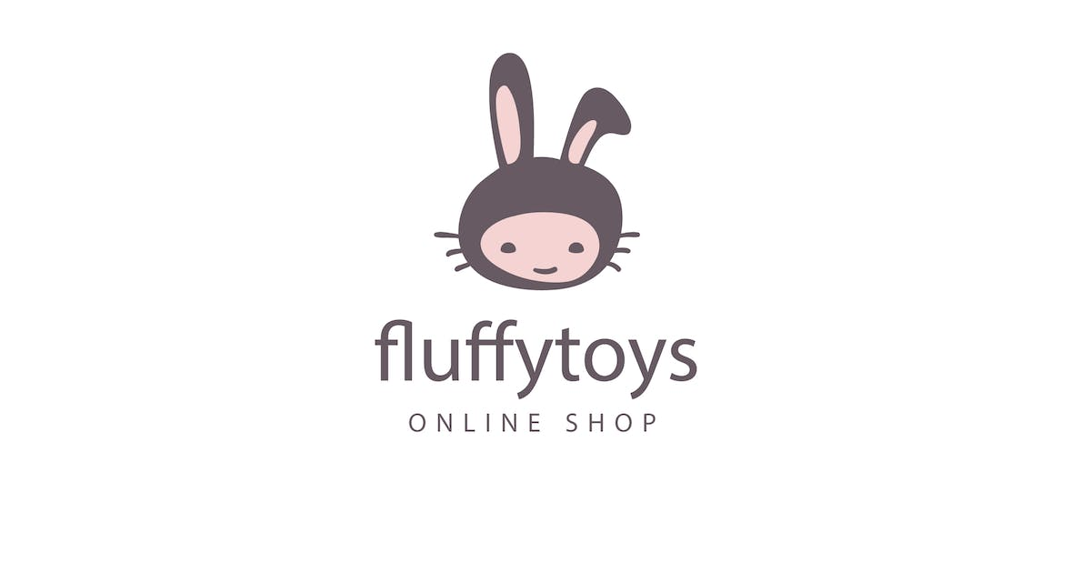 Download Fluffy Toys Logo Template by Be_Themes