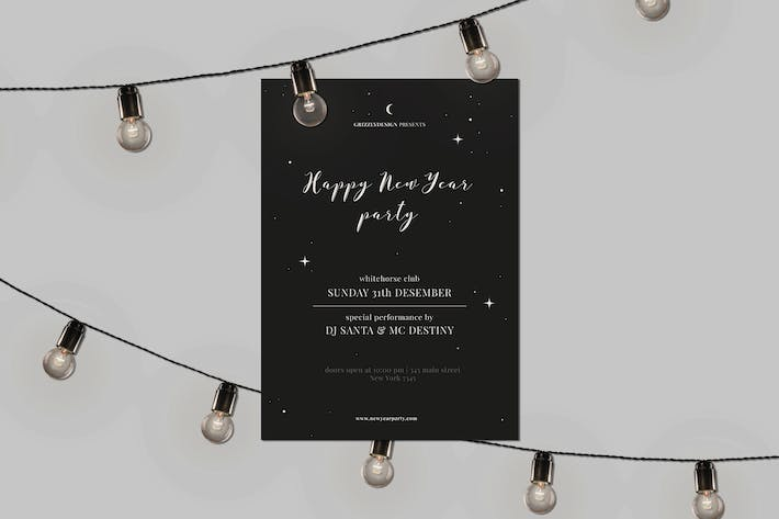 Thumbnail for NYE Flyer Template
