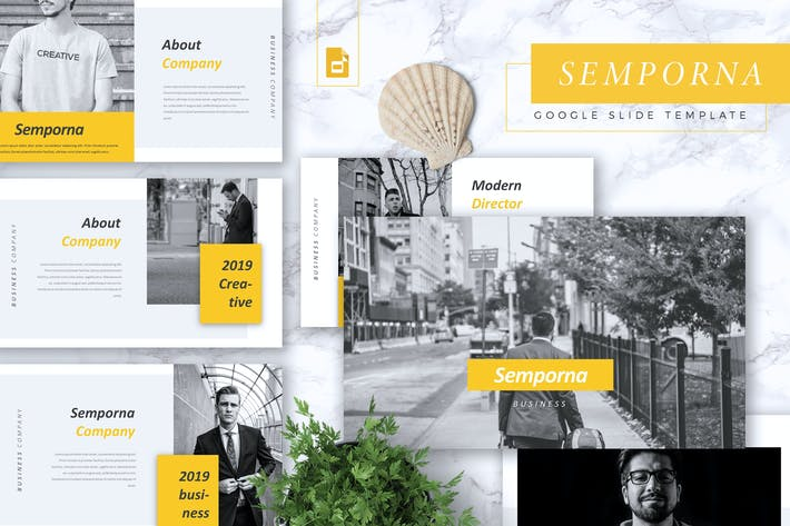 Cover Image For SEMPORNA - Business Google Slides Template