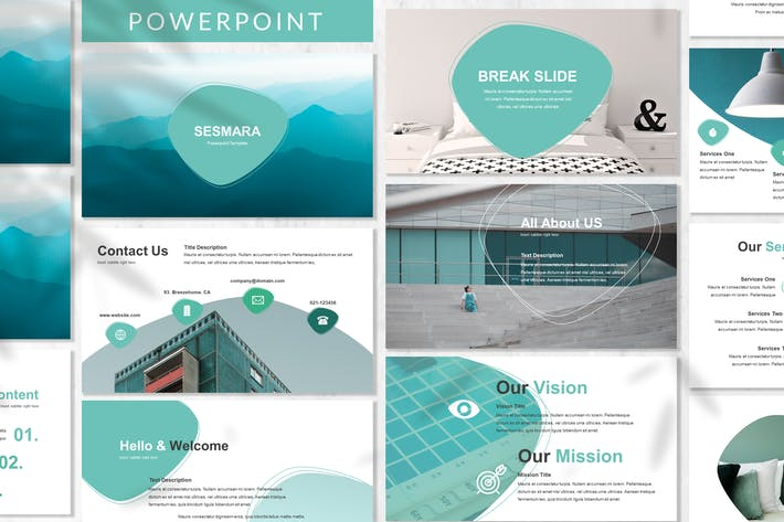 Thumbnail for Sesmara - Business Powerpoint Template