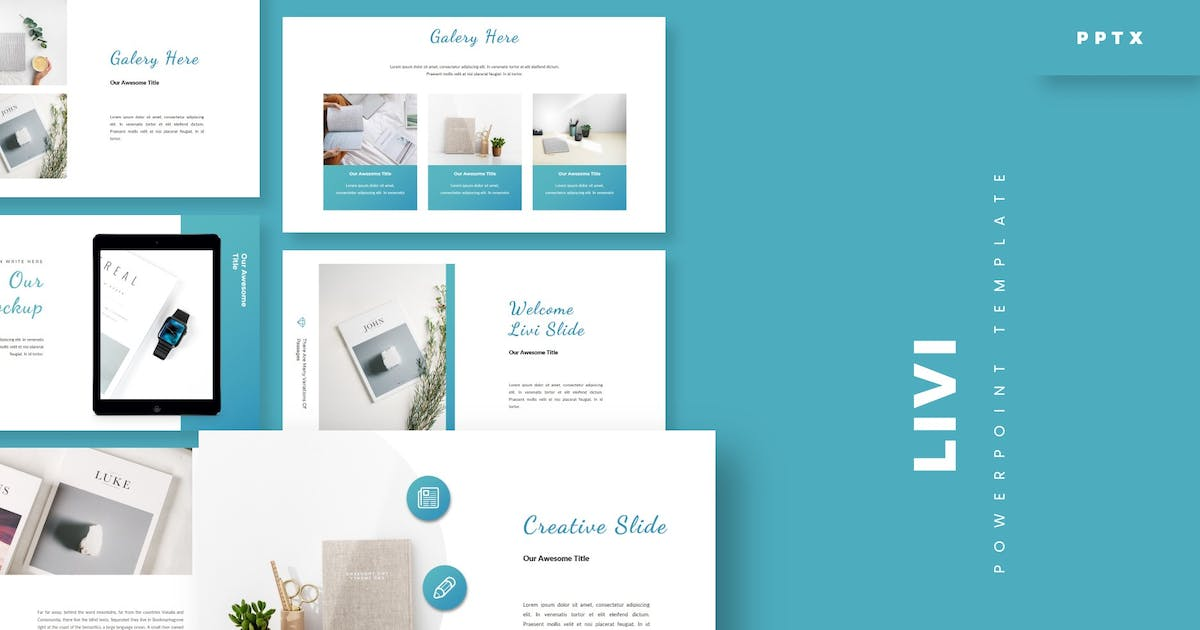 Download Livi - Powerpoint Template by aqrstudio