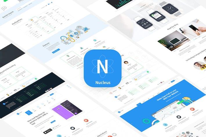 Thumbnail for Nucleus - Multipurpose Technology HTML Template