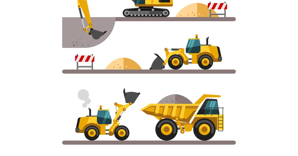 Download Construction Machinery by Faber14