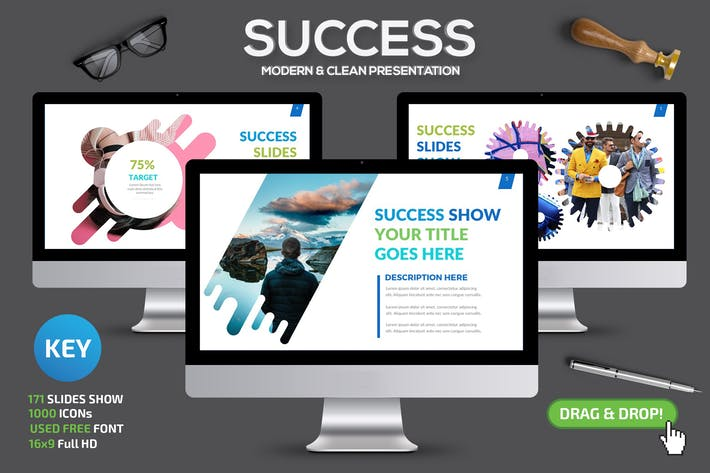 Thumbnail for Презентация Keynote докладов об успешном успехе