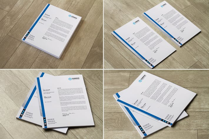 Cover Image For Letterhead Mock Up Vol 05