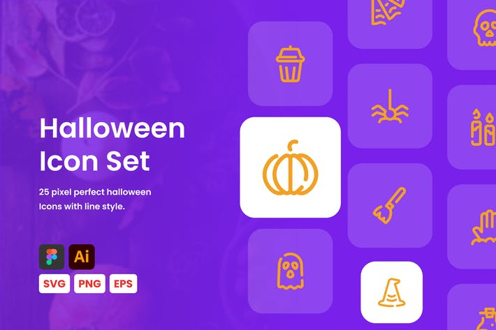 Halloween-Linien-Sy