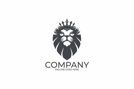 Crowned Royal Lion Logo Templates