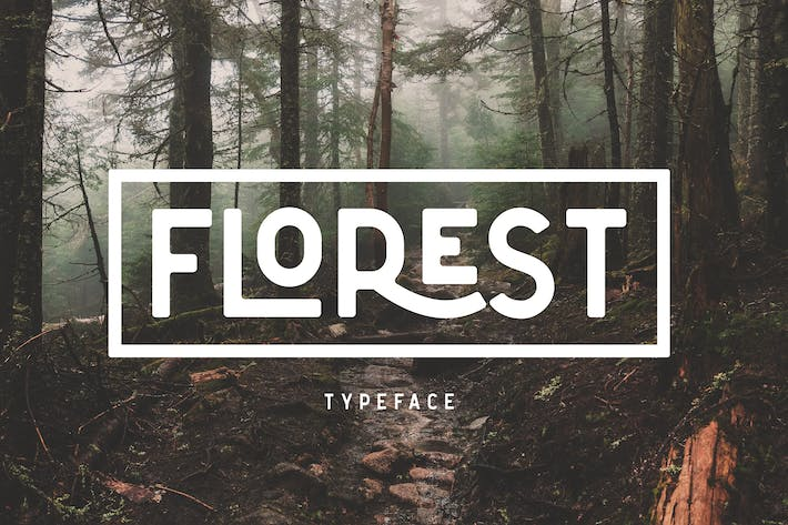Thumbnail for The Florest Typeface - Clean Elegant Stylist Font