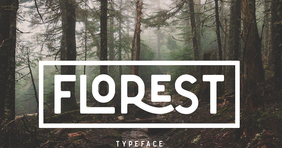 Download The Florest Typeface - Clean Elegant Stylist Font by NEWFLIX