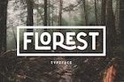 The Florest Typeface - Clean Elegant Stylist Font