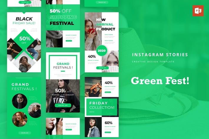 Greenfest Instagram Story Powerpoint Template