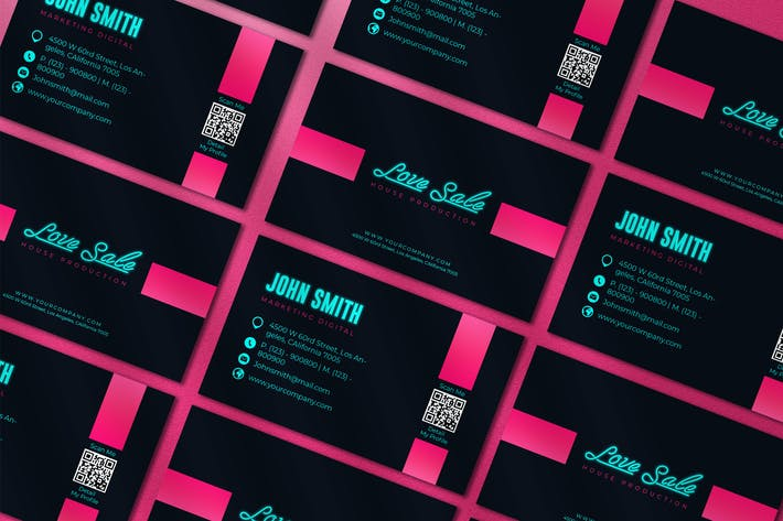 Thumbnail for Love Sale Business Card
