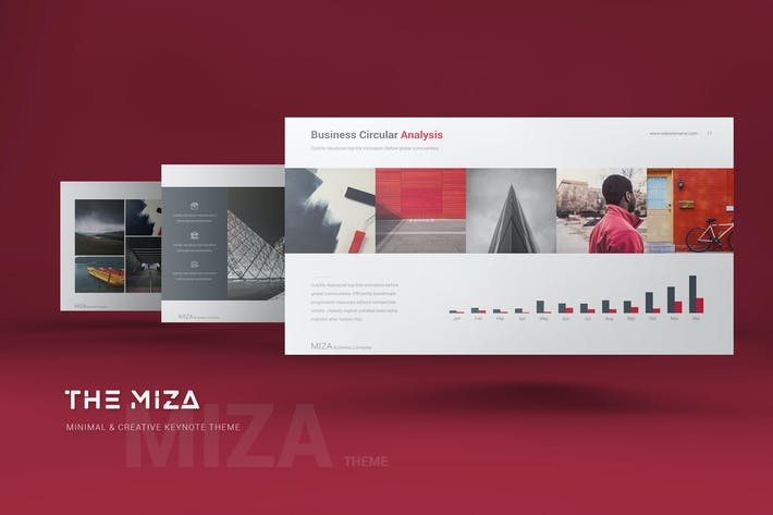 Thumbnail for Miza Business Keynote Template