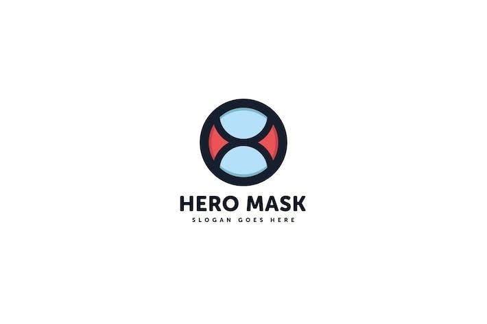 Thumbnail for Hero Mask Logo Vector Template