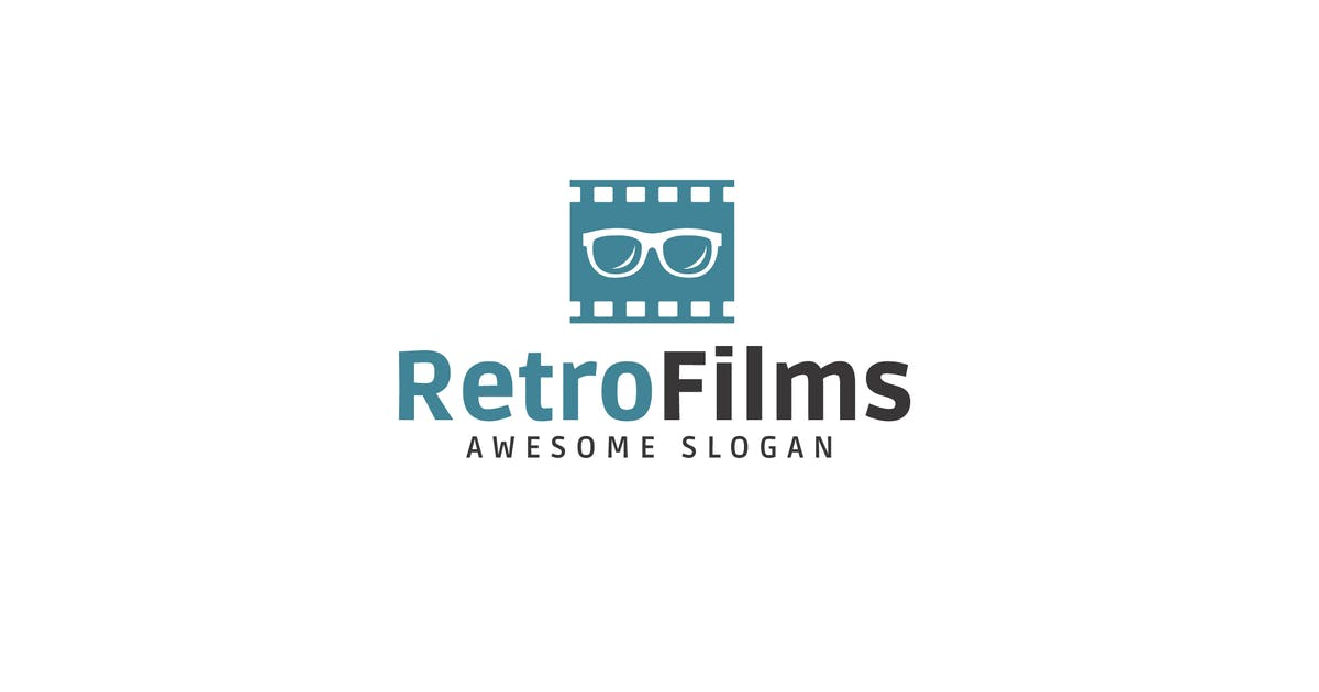 Download Retro Films Logo Template by Be_Themes