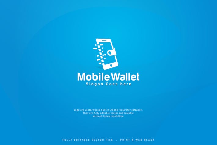 Thumbnail for Digital Mobile Wallet Logo