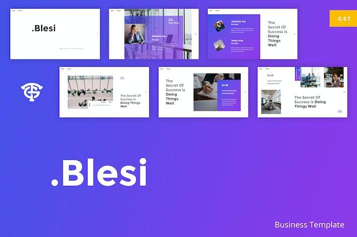 Thumbnail for Blesi Business - Google Slides