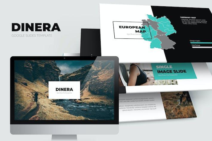 Thumbnail for Dinera : Minimal Nature Google Slides