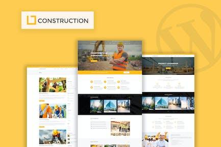 Construction - Business & Building WordPress Theme
