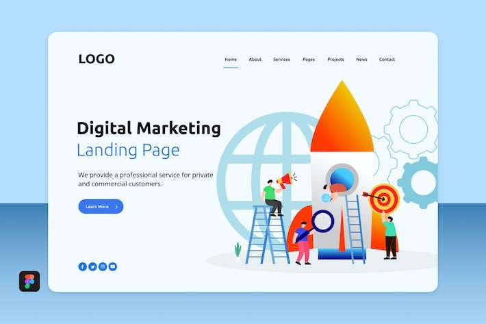 Thumbnail for Dimar - Digital Marketing Landing 4