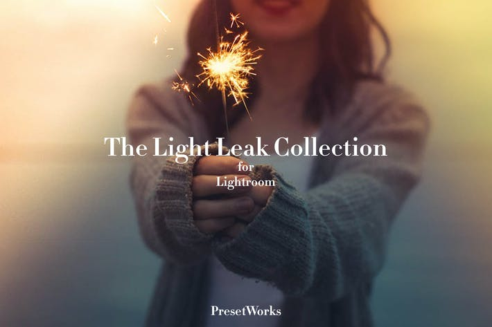 Thumbnail for Essential Light Leak Lightroom Presets