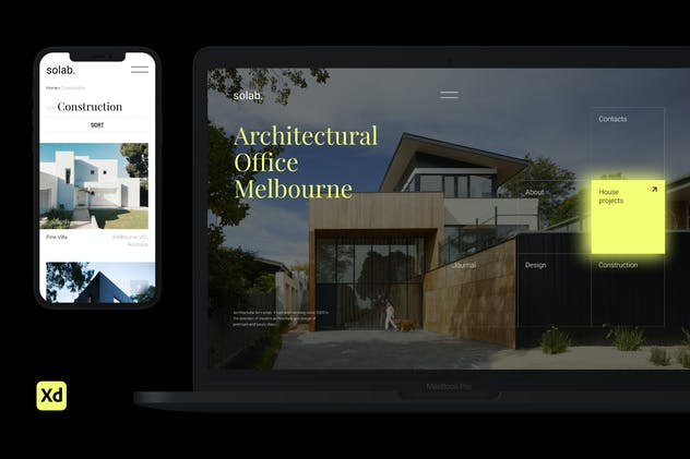 Solab – Architectural Bureau web template