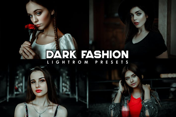 Thumbnail for Dark - Black Portrait Lightroom Presets