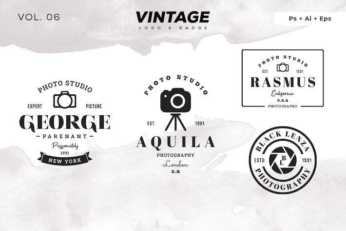 Thumbnail for Vintage-Logo & Badge Vol. 6