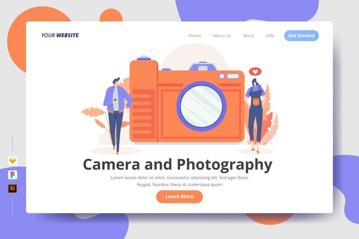 Thumbnail for Camera and Photography - Landing Page