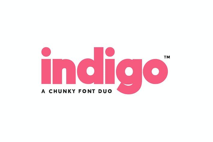 Thumbnail for Indigo Font