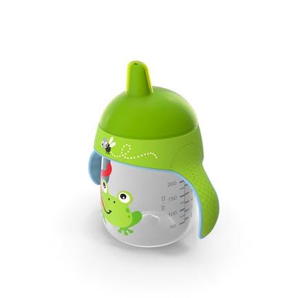 Зеленый носик Кубок с ручками