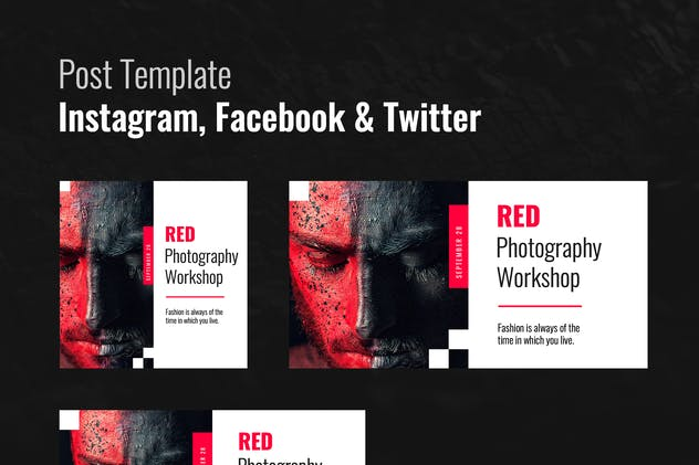 Social Posts Template - product preview 0