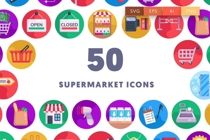 Thumbnail for 50 Иконки супермаркета