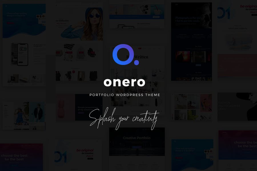 Onero - Creative Portfolio Theme for Professionals
