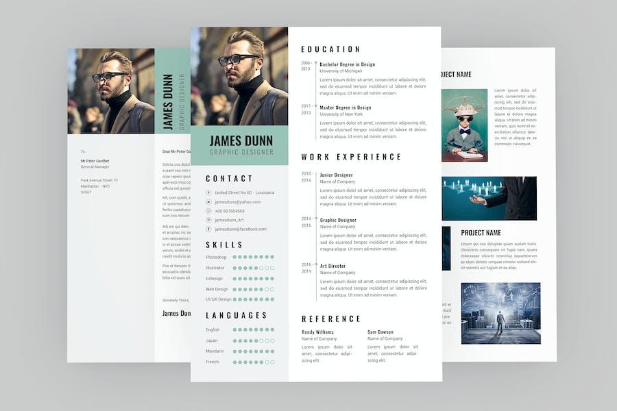 Trig CV Resume Designer