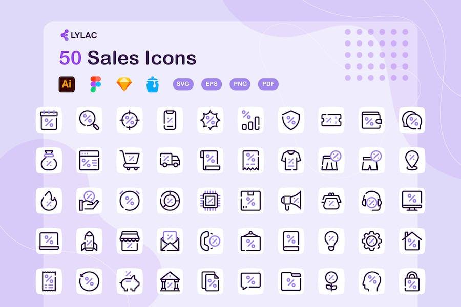 Lylac - Verkaufssymbole