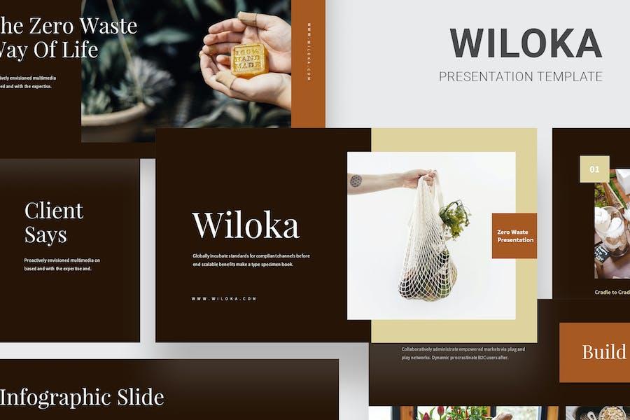 Wiloka - Zero Waste Lifestyle Google Slides