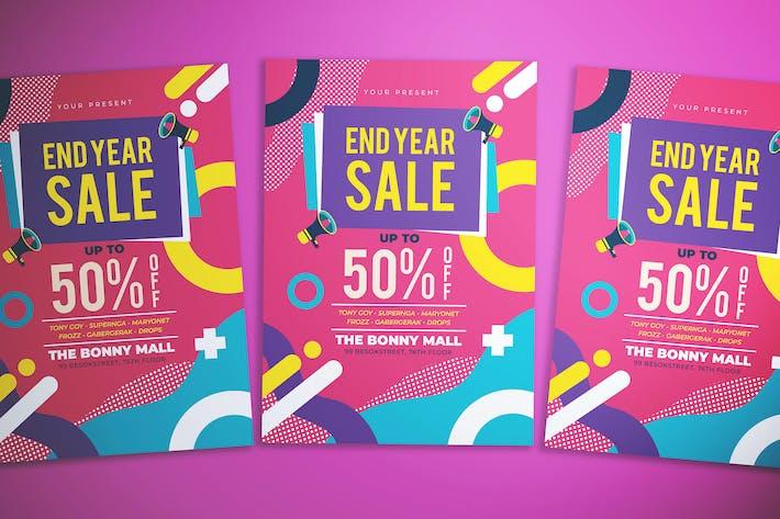 Thumbnail for Memphis End Year Sale Flyer