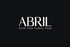 Abril Serif Font Family Pack