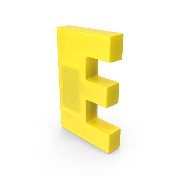 Thumbnail for Letter E Fridge Magnet