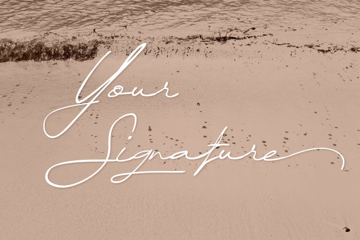 Thumbnail for Your Signature - Handwritten | Signature Font