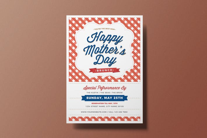 Thumbnail for Mother's Day Brunch Flyer